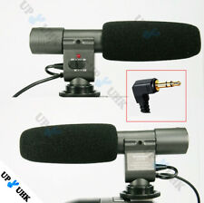 Shotgun Mic Microphone Sound Pickup fr Video Camera Canon 5D Mark III  70D T6i