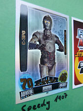 Force Attax Star Wars C-3PO LE8  Movie Cards Serie 3 LE 8 limitierte Auflage