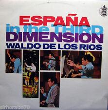WALDO DE LOS RIOS Espana in the Third Dimension OZ LP 1960s
