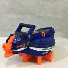 Nerf N-Strike Elite Hail-Fire Blaster Gun 8 Magazines Clips Hail Fire Hailfire
