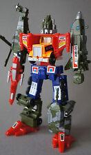 Transformers REMAKE Bruticus China SixTurbo Mash Up Combiner RARE g1 Vintage