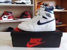 Nike Air Jordan 1 OG High Retro Metallic Blue Chicago banned bred Classic sz 10