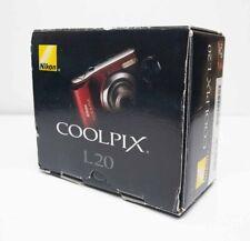 Nikon Coolpix L20 compact digital camera
