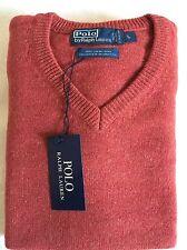Da Uomo Ralph Lauren Agnelli Lana Maglione Pullover collo V dimensioni-Large RRP £ 75