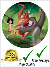 The Jungle Book 7.5'' Circle Edible Icing Cake Topper