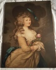 After Gainsborough - Her Grace Georgiana Duchess of Devonshire - Rare & Large -