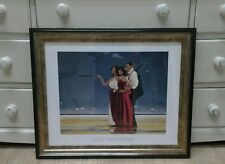 Missing Man I by Jack Vettriano Large Deluxe Framed Art Print Romantic