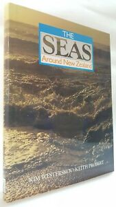 The Seas Around New Zealand Kim Westerskov Keith Probert ocean marine life book