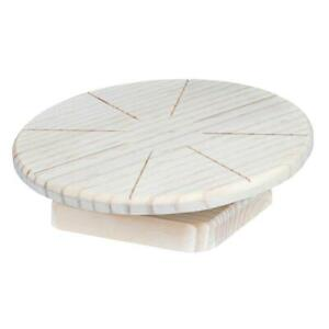 Trixie Wooden Running Disc Flying Saucer Exercise Wheel for Hamsters/Mice - 20cm