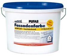 (5,93 EUR/l) PUFAS Siloxan-Fassadenfarbe Extra 15l