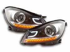 2  faros  lights  phares  Daylight Mercedes-Benz Classe C (204) 11-14 nero