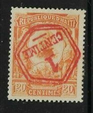 HAITI, 1914, Overprint on 20 Cent Definitive, Sg 158, Mounted Mint.
