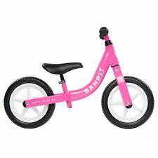 Bandit Bicycles Balance Kids Bike Never Flat Tires Super Light PINK Color