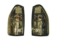 PAIR of Smoked LED Rear Tail Lamps For Isuzu Dmax TFS54 2.5TD/TFS77 3.0TD 03-06