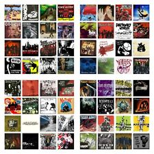 64 used Punk Rock Cd's Lot Bad Religion,Pennywise,Zebrah ead,Raised Fist,Rancid,+