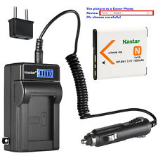 Kastar Battery LCD AC Charger for Sony NP-BN1 BC-CSN & Sony Cyber-shot DSC-W690