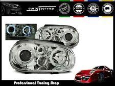 FEUX AVANT PHARES LPVW65 VW GOLF 4 1997 1998 1999 2000 2001 2002 2003 ANGEL EYE