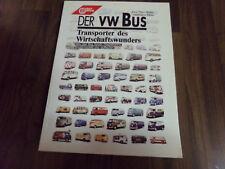 Der VW Bus  Transporter des Wirtschaftswunders * Bus * Kombi * Doppelkabine *