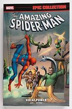 Amazing Spider-Man Great Power Marvel Epic Collection Graphic Novel Comic Book