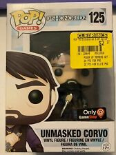 POP GAMES - DISHONORED 2 UNMASKED CORVO - NEW - FREE S/H-(B41A)