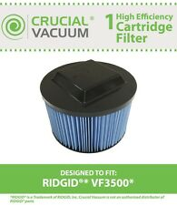 Replacement Ridgid VF3500/WD4050 Replacement Wet/Dry Vac Filter