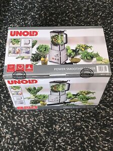 UNOLD POWER SMOOTHIE-MAKER 2,000W Made In Germany Brand New In Box & Sealed
