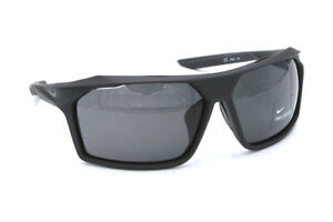 Nike Traverse EV1032 009 Matte Oil Grey Wrapped Sunglasses Dark Grey Lenses