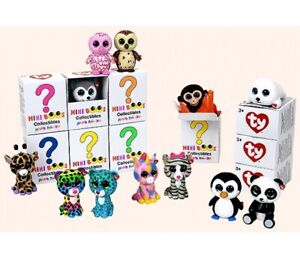 Ty Mini Boos Series Collectable Figure Toy Random Box ( 2 x Supplied )