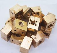 Brass Laser DIY Host/For TO5/9mm Laser Diode w/ 635nm-660nm Green laser lens