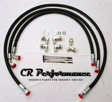 Duramax Transmission Cooler Lines Hoses 06-10 Chevy/GMC 6.6L w/Allison- LIFETIME