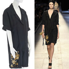 052a9f0fc079 runway DRIES VAN NOTEN gold sequins embellished pocket worker romper  jumpsuit S
