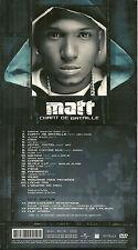 CD + DVD - MATT : CHANT DE BATAILLE / MANQUE CD JE VENDS UNIQUEMENT BOITE ET DVD