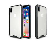 Slim Shock Absorbing [AIR CUSHION] Clear Back Bumper Case to fit Apple iPhones