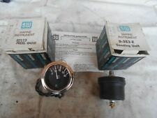 Stewart Warner Oil Pressure Gauge 82113 Electric SW Boat Marine D-353-Z Sending