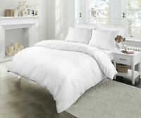 Premium~Bedding~Collection 1000 TC 100% Egyptian Cotton All Sizes White Solid