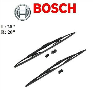 2PCS BOSCH FRONT L&R D-Connect Wiper Blade For TOYOTA SIENNA 2011-2020