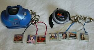 Vintage Hit Clips Lot - Boombox & Player with 7 Music Clips
