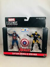 Marvel Captain America and Iron Man Action Figures Toys R Us Exclusive