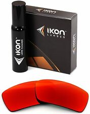 Polarized IKON Iridium Replacement Lenses For Oakley Gascan S SMALL +Red