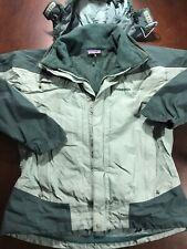 PATAGONIA Gore-Tex XCR Men's Hooded Snowboard Ski Jacket W/ Powder Skirt Small