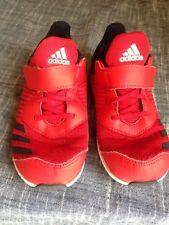 86b49265eb8 Adidas FortaRun EL Running Shoes - Red - Boys