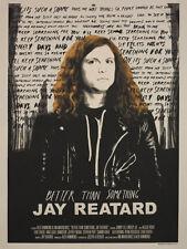 Better Than Something: Jay Reatard 2012 U.S. Silkscreen
