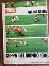 ALBUM RACCOLTA FIGURINE CALCIATORI MONDIALI 1966 - EDIZIONI EPOCA - GIANNI BRERA