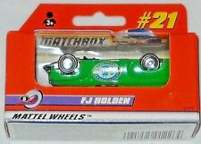 MATCHBOX MATTEL WHEELS WINDOW BOX #21 FJ HOLDEN