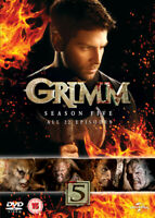 Grimm: Season 5 DVD (2016) David Giuntoli cert 15 5 discs ***NEW*** Great Value