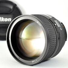 [Near Mint] NIKON AF Nikkor 85mm f/1.4 D Portrait Prime Bright Lens from Japan