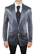 Traje Completo De Novio Hombre Diamond Class Sartorial Vestido Gris Talla 46