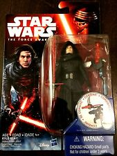 "NEW Star Wars The Force Awakens 3.75"" Figure UNMASKED Kylo Ren *BEN SOLO* sealed"