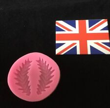 Silicone Fern Leaf Mould For Cake Decorating