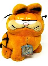 1988 Dakin's 10 years Garfield The Year of The Party Soft Toy plush Teddy Tag